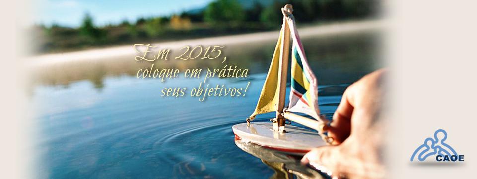 Em 2015, coloque em prática seus objetivos!